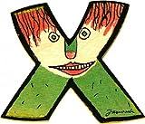 Janosch Holz Buchstaben 6cm (Buchstabe X)