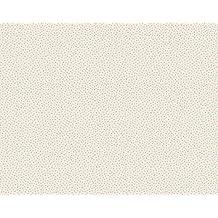Oilily Mini Dots Motiv Tapete, Weiß/Duck Egg/beige