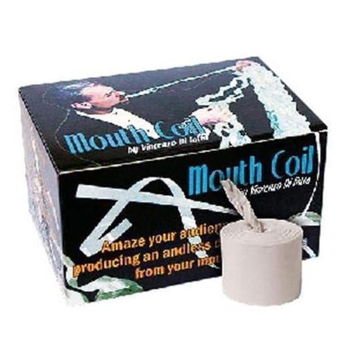 Mouth-Coils-Streifen-aus-dem-Mund-12-Stck-Made-in-Italy-Tcher-Papier-Seile-Zaubertricks-und-Magie