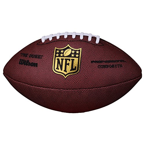 Wilson Football NFL Game Ball The Duke Replica, SC, Senior - Balón de fútbol Americano Bola de Partido...