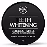#1: The Beauty Co. Coconut Shell Activated Charcoal Instant Teeth Whitening Powder, 50g