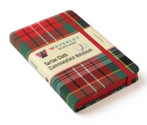 caledonia-waverley-genuine-tartan-cloth-commonplace-notebook-9cm-x-14cm-waverley-genuine-scottish-ta