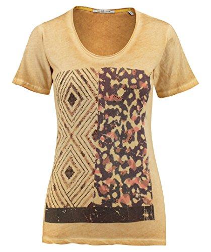 Rich & Royal Damen T-Shirt Senf