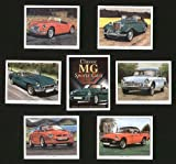 M. G. CLASSIC SPORTS CARS–TD, MGA, MGB, MGF, RV8–Sammler Karten