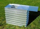 Klein-Hochbeet mit Abdeckung von MSL aus verzinktem Stahlblech (Metall), Typ KH PLUS