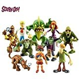 Scooby Doo Mystery Mates - Crew Resolver y The Monsters Mega 10 Figura Paquete