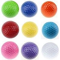 Crestgolf sei colorato palla da golf, palline da golf driving Range, confezione da 6PZ