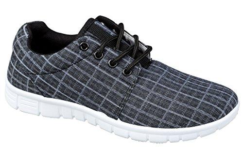 gibra, Sneaker donna Nero (antracite)