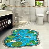Wasserdichte Abnehmbare Weißdorn Aquarium Bodenfliese Dekoration Wandaufkleber Badezimmer Wohnzimmer Kunst Wandtattoo