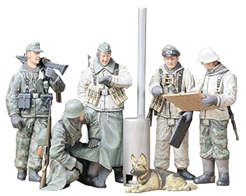 Tamiya 300035212 – 1: 35 WWII Figures Set German Soldiers Befehlsausga (5)