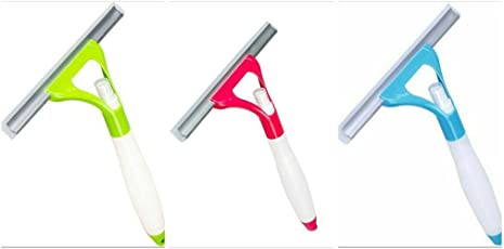 Cleaning Spray Type Glass Wiper Window Cleaner Brush Home Cleaning Set(pack of 3)