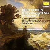 Ludwig Van Beethoven - Christoph Eschenbach , Boston Symphony Orchestra , Seiji Ozawa - Klavierkonzert Nr.5 Es-dur Op. 73 - Deutsche Grammophon - 2535 296