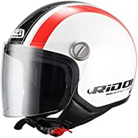NZI 150262G861 - Casco de Moto Capital Visor Stread Graphics, Talla M(57-