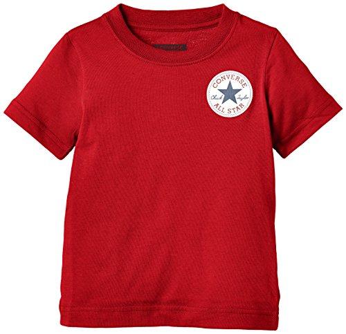 Converse Left Chest-T-shirt Bambini e ragazzi,    Red (Days Ahead) 3-4 anni