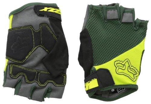 Fox Head Men 's Reflex Gel Short Handschuh M Fatigue Green (Reflex Gel Fox)