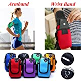SHOPEE BRANDED Waterproof Portable multi-function Phone Case Cover Bag Arm Band Pouch Belt Wrist Strap Gym Sports Running Arm Bag Universal 5.7 inches (COLOR MAY VERY)