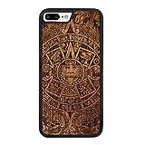 SmartWoods 42132.0 Aztec Calendar Dark Schützhülle für Apple iPhone 7/8 Plus braun