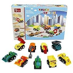 Idea Regalo - PL Macchinine Giocattolo per Bambini Camion Giocattoli Veicoli Ruspe Scavatore Mini Auto Regalo Ragazza Ragazzo 3 4 5 6 Anni