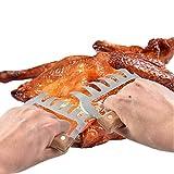 LY/WEY 2 Stück Fleischkrallen Fleisch Krallen BBQ für Pulled Pork, Fleischgabeln Bärentatzen, Fleischkrallen, Grill Fleischgabeln, Gabeln für Gebratenes, Ultra-Scharfe Klingen, BPA Frei
