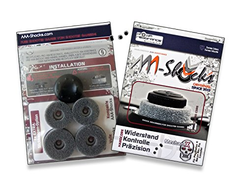 AAA-Shocks (Original Analogstick Aim Assistance Stossdämpfer Zielhilfe für Shooter Games): MechaniX für Nacon Revolution Pro Controller (Extreme-duty-kit)