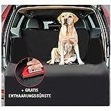Jeff Wetnooze 2in1 Hundedecke Kofferraum [2020 Version] mit Spezialbürste, Kofferraumschutz Hund wasserdicht mit Ladekantenschutz und Seitenschutz
