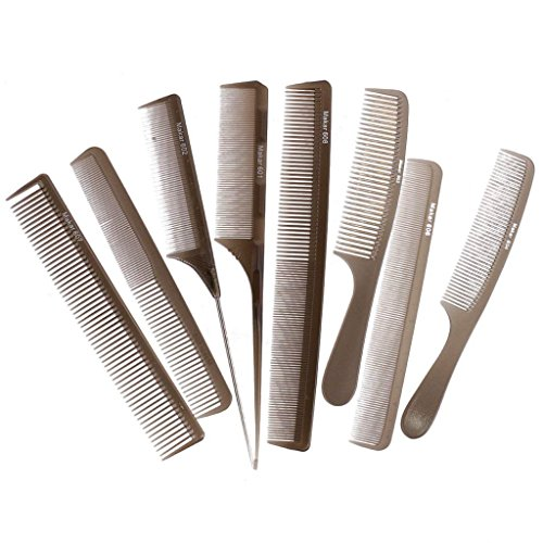 Professional hair styling pettine da parrucchiere pettini kit per salone barbiere