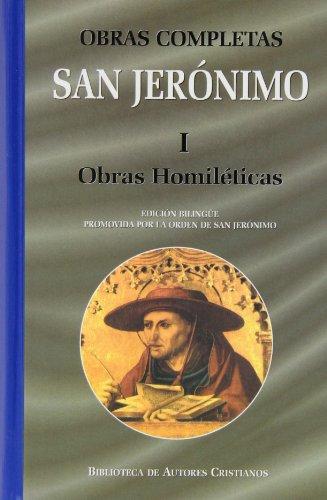 Obras completas de San Jerónimo. I: Obras homiléticas: Comentarios a los Salmos. Comentario a San Marcos. Tratados varios: 1 (NORMAL)