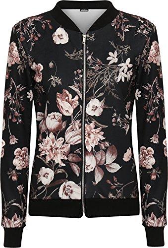 wearall-femmes-imprime-floral-de-rose-zip-bomber-bombardier-veste-nouvelle-mesdames-manches-longues-