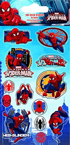Paper Projects Spiderman Aufkleber, auf Folie