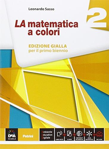 La matematica a colori. Con Quaderno recupero. Ediz. gialla. Per le Scuole superiori. Con e-book. Con espansione online: 2
