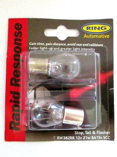 CCA RING 12V 21W Brake & Flash - Rapid Response - RW382RR -