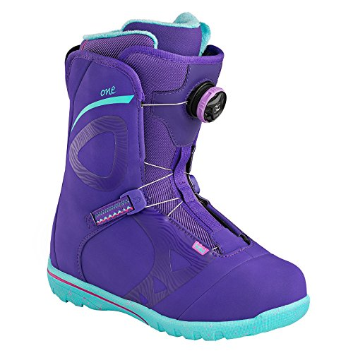 HEAD Damen One Wmn Boa Snowboard Boots, Purple, 38