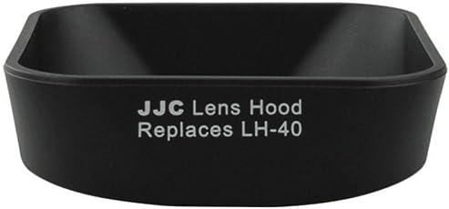 JJC LH-J40 replace LH-40 for Olympus M.Zuiko 14-42mm 1:3.5-5.6 II lens hood