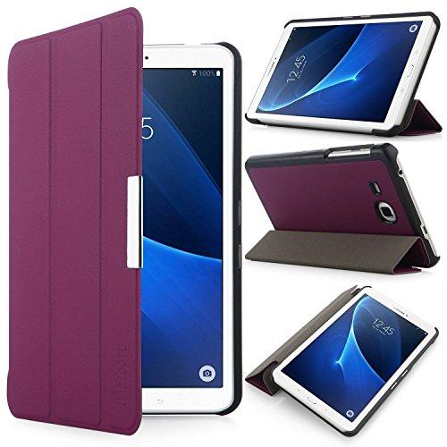 iHarbort® Samsung Galaxy Tab A 7.0 Hülle - Ultra Slim Leder Tasche Hülle Etui Schutzhülle Für Samsung Galaxy Tab A 7.0 Zoll T280 T285 Case Cover Holder,(Galaxy Tab A 7.0, Lila)