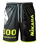 Mikasa Short Beach Volley Uomo Nero MT5019 (V4, XL)