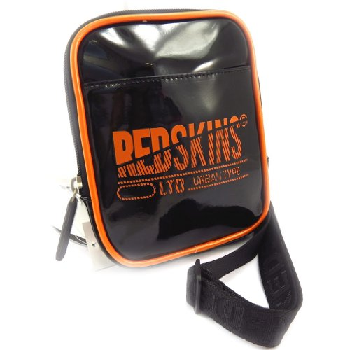 Bolsa de hombro 'Redskins' slim naranja (barniz).