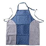 Underleaf Der Segeltuch-Ausgangsstoff Frauen kann die Handschutzblech-ölbeständige Kleid-Haushalts-Küchen-Arbeitskleidung, Co