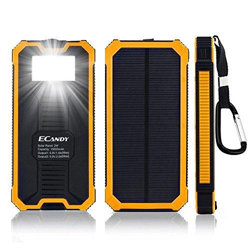 ecandy-15000-mAh-Backup-de-batera-solar-corriente--Cargador-dual-USB-port-con-8-LED-de-linterna-solar-de-Cargador-para-iPhone-Samsung-Galaxy-S6-S6-Edge-de-S5-S4-S3-Telfono-Mvil-de-Tablette