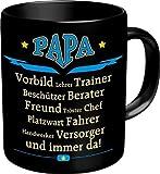 Rahmenlos Tasse: Papa Vorbild - Geschenkidee - Top Qualität -