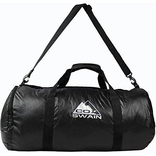 Cox Swain Tasche Space - Faltbare sehr leichte Sport und Freizeittasche, Colour: Black