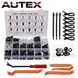 Autex 450 PCS Rivet Clips Plastique,Fixation de Protection Rivets Clips Plastiques...