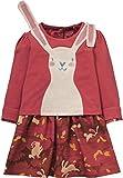 Oilily Jersey Kleid Theodosia Rot für Mädchen YF17GDR083