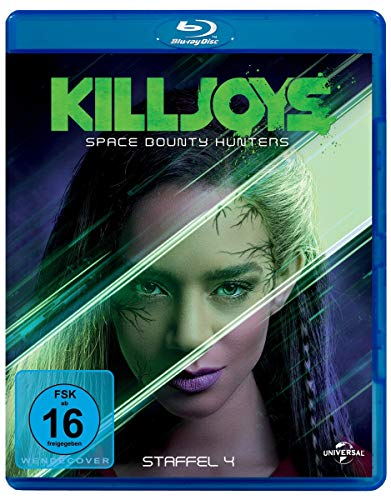Preisvergleich Produktbild Killjoys - Space Bounty Hunters - Staffel 4 - Blu-ray Disc