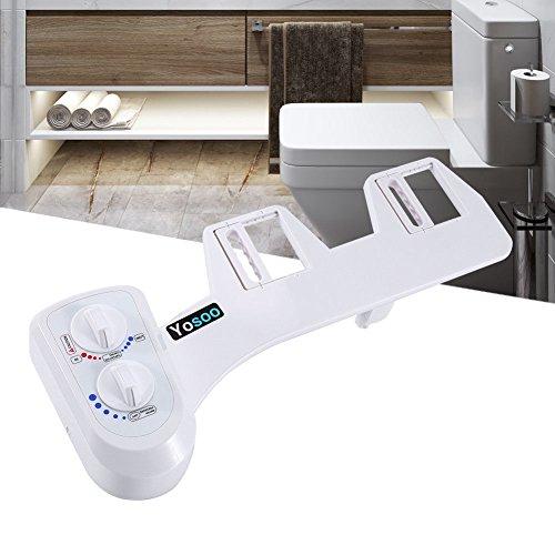 Dusch WC für Intimreinigung Taharat Bidet Wasser- Druck & Temperatur einstellbar