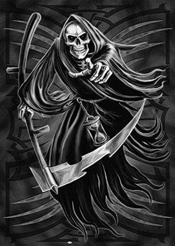 Tribal Reaper-Der Tod-Fantasy-Sichel-61x 91cm Poster/Poster