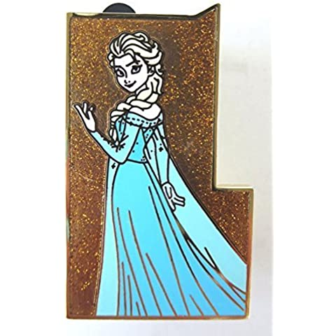 Disney D23 Expo 2015 Castle Mystery Puzzle Pin - Frozen Elsa by Disney