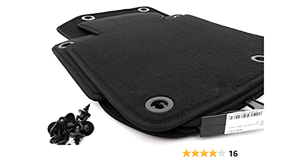 Kh Teile Fußmatten E36 Cabrio Velours Automatten Original Qualität 4 Teilig Schwarz Auto