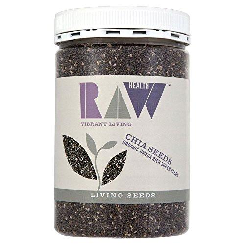 Graines Raw Santé Chia bio (450g) - Paquet de 6