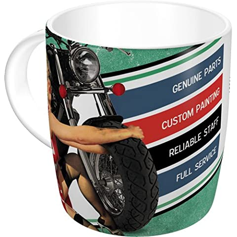 Nostalgic-art 43002Best Garage, Tazza, colore: verde