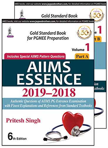 AIIMS ESSENCE 2015 - 2019 (VOLUME 1)-(Part A & B)